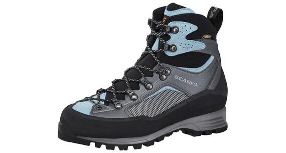 Scarpa R-Evo Treck GTX - Chaussures Femme - gris/bleu